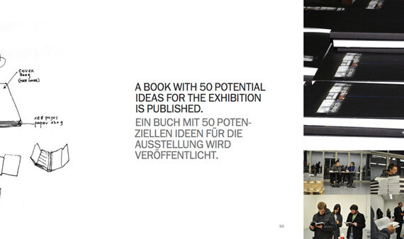 Tomaz Kramberger & Aldo Giannotti - A Book With 50 Potential Ideas For The Exhibition Is Published- Art Intervention