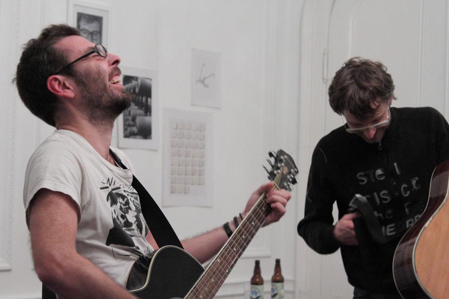 Aldo Giannotti & Tomaz Kramberger - Austro Pop - Art Performance