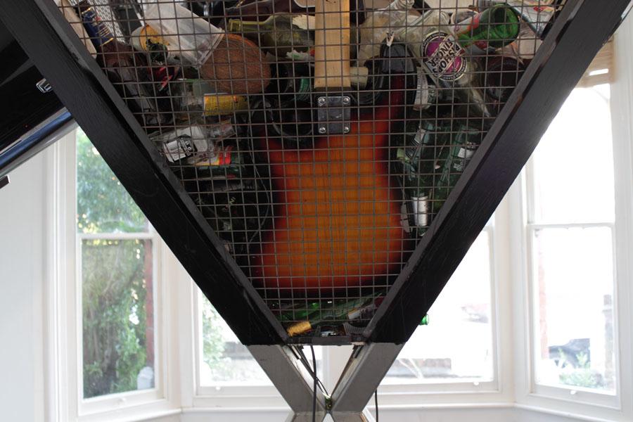 Tomaz Kramberger - Molotov Reloaded - Art Installation